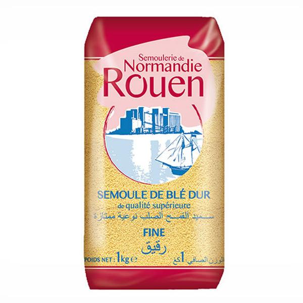 ROUEN - Semoule de Blé dur - fine 1kg