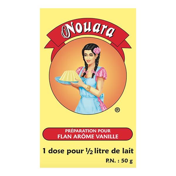 NOUARA- FLAN VANILLE-50g