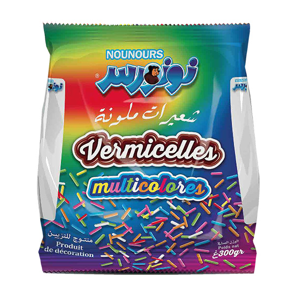 NOUNOURS – Vermicelle Coloré 300 g