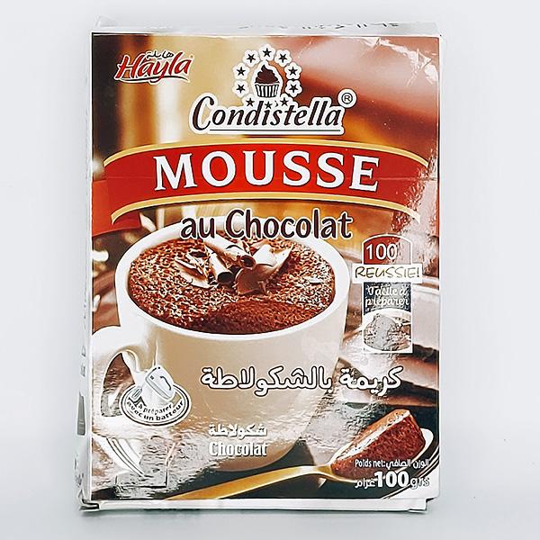 Mousse au chocolat condistelle