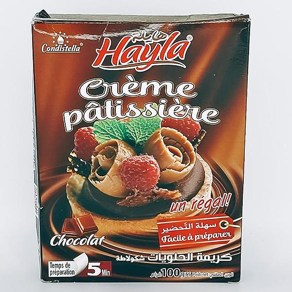 crème pâtissière chocolat condistella