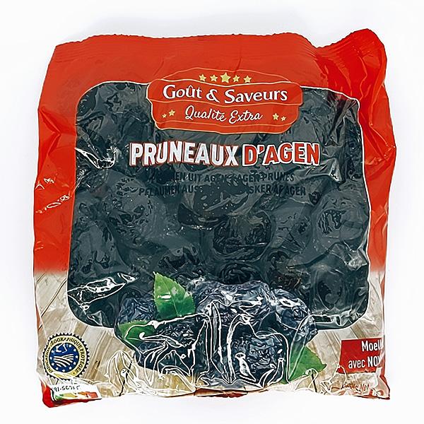 GOÛT & SAVEURS- PRUNEAUX D'AGEN ENTIERS IGP-1kg